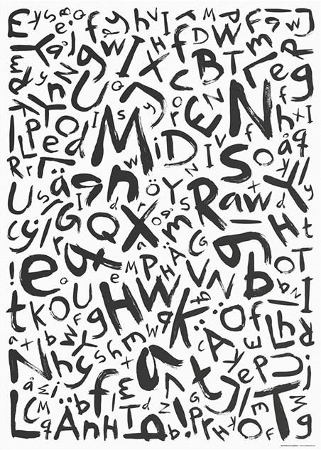 Sammelsurium – Typeface by Mattias Sahlén